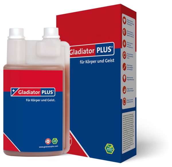 GladiatorPLUS Mensch 500ml PET