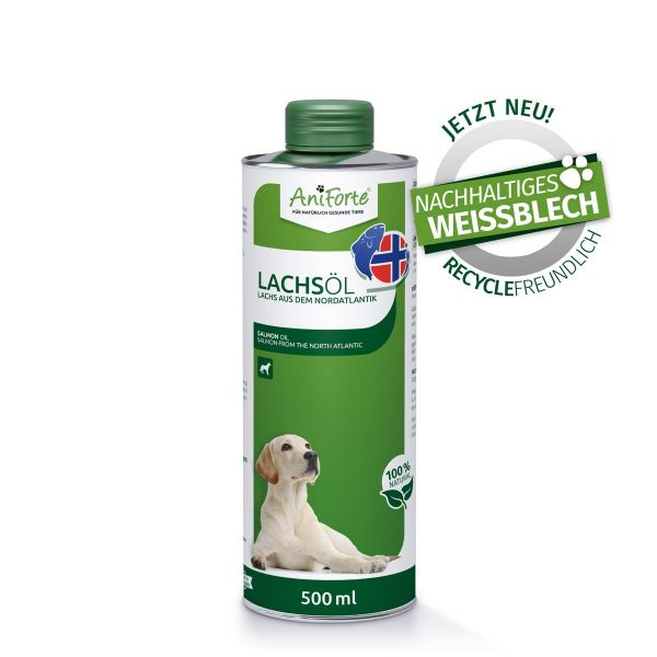 AniForte® Omega3 Lachsöl 500ml