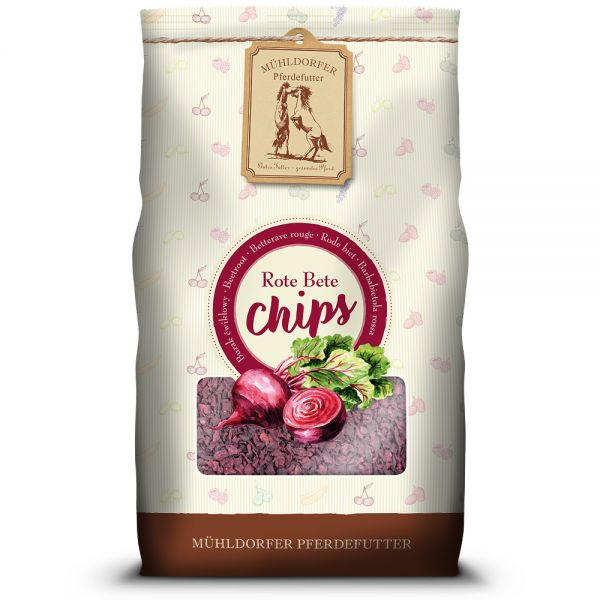 Rote Bete-Chips - 3,5 Kilogramm